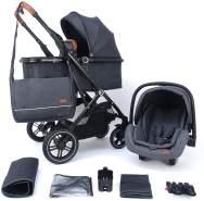 Pixini Lania Kinderwagen Urban black