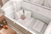 Cilek BABY COTTON 7tlg Baby Set XL Babydecke Kissen Gitterschutz Bettdeckenbezug