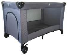 Kinderbett 125 x 65 cm anthrazitfarben