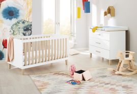 Pinolino 'Lumi' 2-tlg. Babyzimmer-Set, breit