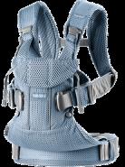 BabyBjörn Babytrage One, Air Mesh 3D Schiefer Blau