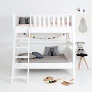 Sanders Bett Etagenbett mit schräger Leiter Fanny 90x160 cm