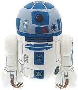 Jazwares - Star Wars - Medium Plüschfiguren mit Sound - R2-D2