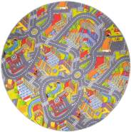 misento 'Big City' Kinderteppich 200 cm rund