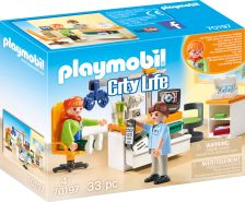 Playmobil City Life 70197 'Beim Facharzt: Augenarzt', 33 Teile, ab 4 Jahren
