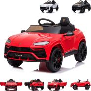 Chipolino Kinder Elektroauto Lamborghini Urus, Fernbedienung, FM-Radio, Mp3 rot