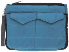 Aufbewahrungsbeutel 27 x 22 cm Polyester blau