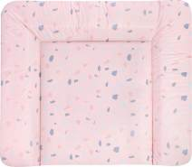 Julius Zöllner Wickelauflage Softy 75 x 85 Terrazzo Blush