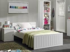 Vipack 'Robin' Einzelbett weiß, 120x200 cm