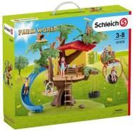 Schleich 42408 Farm World Spielset - Abenteuer Baumhaus, Spielzeug ab 3 Jahren