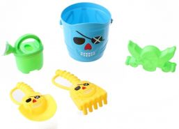 Happy People Strandspielzeug-Set Pirat 15 cm 5-teilig blau