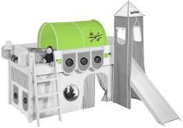 Tunnel 'Dragons Grün' für Hochbett, Spielbett und Etagenbett