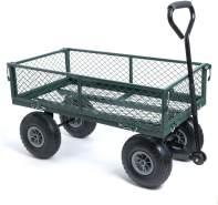 wuuhoo® Bollerwagen Elton mit abnehmbaren Seiten, belastbar bis 350kg