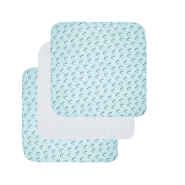 Luma Mulltücher 70x70 3er-Pack Racoon Mint
