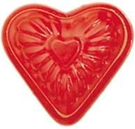 Glückskäfer 535021 Relief-Sandform Herz, rot
