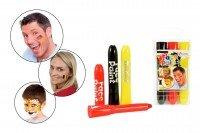 Toi-Toys–Gesicht Kreide, 45004A, Mehrfarbig