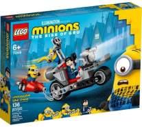 LEGO® Minions 75549 'Unaufhaltsame Motorrad-Jagd' 136 Teile, ab 6 Jahren