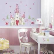 RoomMates Wandtattoo 'Prinzessinnenschloss'