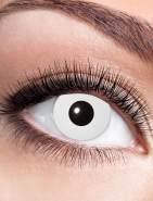 Zoelibat Kontaktlinse White Zombie dpt. -1,0 bis -4,0, Größe: -2,5 Dioptrien