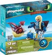 Playmobil Dragons 70041 'Astrid mit Fluganzug und Nimmersatt', 12 Teile, ab 4 Jahren