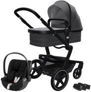 Joolz 'Day+' Kombikinderwagen Awesome Anthracite inkl. Cybex Cloud Z Plus Babyschale Deep Black