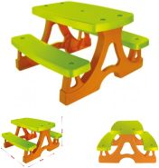 Mochtoys Kinderbank, Kindersitzgruppe für drinnen und draußen 79x78x49 cm