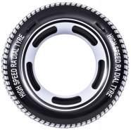 Pool-Reifenrad 115 x 45 cm schwarz