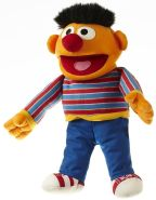 Living Puppets Handpuppe Ernie aus der Sesamstraße 28 cm