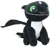 Auswahl Baby Nachtlichter Softwool 15 cm Plüsch-Figur DreamWorks Dragons Baby Nachtschatten 1