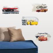 RoomMates - Disney Cars 3 Wandsticker Wandtattoo Sticker RMK3464SCS