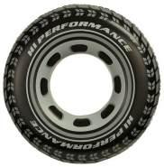 Intex Giant Tire Tube - Aufblasbarer Schwimmring - 91 cm - Reifendesign