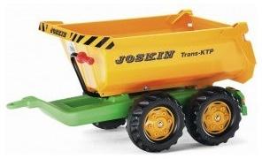 Rolly Toys 122264 rollyHalfpipe JOSKIN Anhänger orange