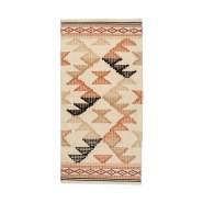 """Teppich """"Charlie"""", 70 x 140, terracotta, aus Baumwolle, von KidsDepot"""