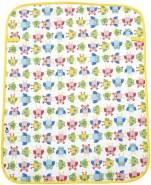 Mon Petit Bleu 5901323926808 Wickelunterlage - Soft & Handy Mon Petit Bleu, wasserdicht, beidseitig einsetzbar aus Baumwolle und Velour, 60 x 48 cm - Grün/Eulen