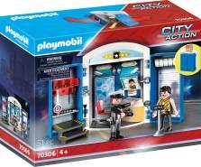 """Playmobil City Action 70306 Spielbox """"In der Polizeistation"""", 51 Teile, ab 4 Jahren"""