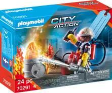 """Playmobil City Action 70291 Geschenkset """"Feuerwehr"""", 24 Teile, ab 4 Jahren"""