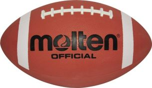 Molten Kinder American AFR Junior Football, BRAUN, one Size