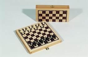 Weiblespiele 03002 - Steckschachspiel, 16 x 8 cm