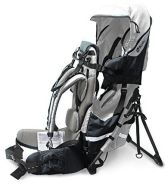 kiddy - Adventure Pack Rückentrage Silver Grey