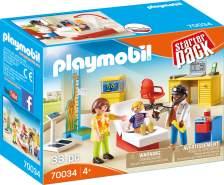 Playmobil City Life 70034 'StarterPack Beim Kinderarzt', 33 Teile, ab 4 Jahren