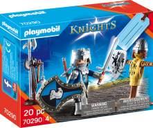Playmobil Knights 70290 Geschenkset 'Ritter', 20 Teile, ab 4 Jahren
