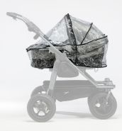 TFK Regenschutz für Duo Kombi Kinderwagen (2 Wannen)