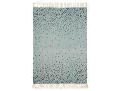 Done By Deer Teppich, 90 x 120 cm Blau