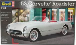 Revell Modellbausatz Auto 1:24 - '53 Corvette Roadster im Maßstab 1:24, Level 4