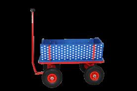 Beachtrekker 'Style' Holzbollerwagen Blau