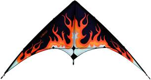 Eolo-Sports ezsp840 Pop Up Stunt Kite - Flame