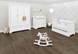 Pinolino 'Emilia' 3-tlg. Babyzimmer-Set weiß, 3-türig