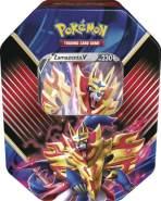 Pokemon 45216 'Tin 86-Zamazenta-V' deutsche Ausgabe, 11,5 × 7,5 × 15,3 cm