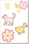 Wallies Wandaufkleber Motiv-Sticker (Cutouts) LuLu