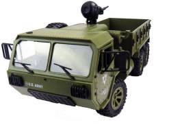 U. S Military Truck 1:12 6WD 2. 4 GHz RTR